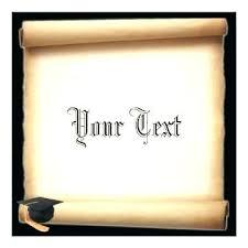 Scroll Template Microsoft Word Free Scroll Template Printable Microsoft Word Paper Com Border