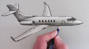 Airplane Drawing How To Draw An Airplane Youtube