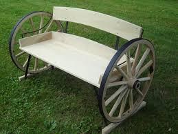Wagon Wheel Bench Angle ...