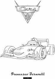 cars 2 coloring pages francesco. Simple Coloring Cars 2 Francesco Benoulli Printable Coloring Page Throughout Pages E