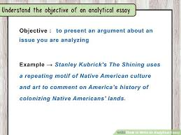 how to write an analytical essay image titled write an analytical  how to write an analytical essay image titled write an analytical essay step 1 how to
