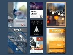 Create Flyers Online Best Free Brochure Software Making