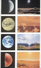 view of sky on other planets