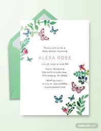 Do It Yourself Baby Shower Invitation Templates Free 24 Sample Printable Baby Shower Invitation Templates