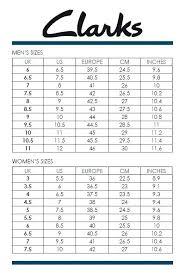 Clark Shoes Size Chart Clarks Us Shoe Coreyconner