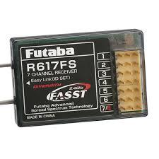 Futaba Receiver Chart Futaba R617fs 7 Channel Fasst Receiver