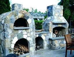 outdoor fireplace pizza oven combo outdoor fireplaces pizza ovens