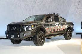 2018 Chicago Auto Show: Nissan Teams with Icon for Titan Factory ...