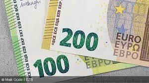 Euroscheine der euro (internationaler währungscode nach iso: Euro Banknoten Deutsche Bundesbank
