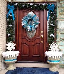 how to hang garland around front doorFront Door cozy garland front door ideas Attach Garland Front