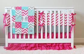 image of baby girl elephant bedding sets