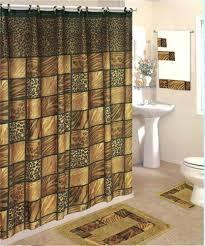 leopard bathroom rug set piece bath rug set shower curtain towels leopard home style studio leopard leopard bathroom rug