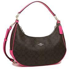 ... where to buy coach signature east west celeste convertible hobo  crossbody handbag fuchsia 0d782 45fb3