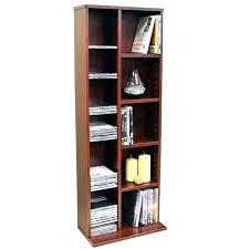 dvd storage cabinet with doors walnut sliding