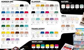 Cernit Color Chart