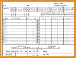 Football Stat Sheet Template Excel Printable Blank Football Pool