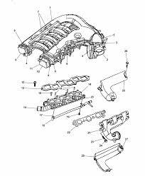 2007 dodge charger intake exhaust manifold thumbnail 2