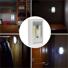 wireless closet lighting. 5W 4.5V LED Wall Switch Room Bed Closet Cordless Light Battery Operated Control Wireless Lighting