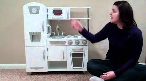 Kid Craft Retro Kitchen Kidkraft White Vintage Kitchen Youtube