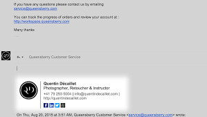 Creat E Mail Create A Professional Looking Email Signature With Wisestamp