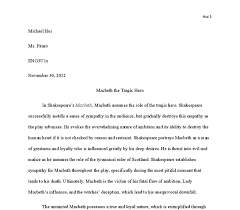 macbeth tragic hero essay conclusion paragraph research paper   essays on macbeth tragic hero