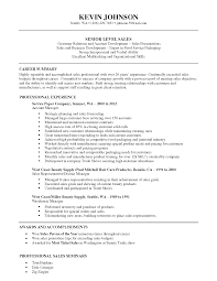 Outside Sales Resume Examples Resume And Cover Letter Resume And