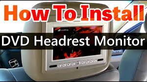 dvd headrest monitor installation video hd qualitymobilevideo dvd headrest monitor installation video hd qualitymobilevideo com