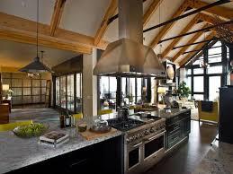 LakeTahoeMountainStyleHome40 Classy Gourmet Kitchen Design Style