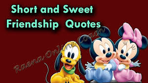 Photo Quotes About Friendship Short and Sweet Friendship Quotes Funny Quotes About Friends YouTube 78