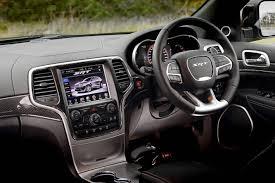 2014 Jeep Grand Cherokee SRT interior |