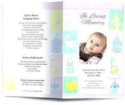 Download Funeral Program Template Free Funeral Program Template