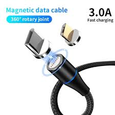3A <b>Magnetic Data Cable</b> Three-in-one <b>Fast</b> Charge <b>Data</b> ...