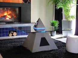 horus iphone docking coffee table boasts egyptian cyberpunk aesthetic at its worst