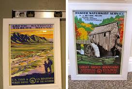 vintage park poster
