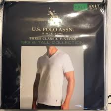 Us Polo Assn T Shirts Xlt 2 3 4xlt Big 3 4xl Nwt