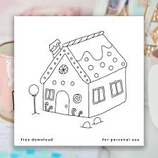 Use the download button to find out the full image of gingerbread. Free Gingerbread House Coloring Page Find A Free Printable