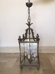 wrought iron chandelier italy 1940s