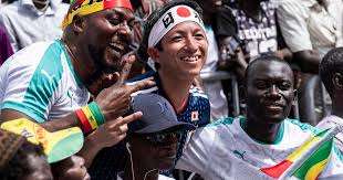 <b>Anime</b> theme brings <b>Japan</b> and Senegal fans together at the World ...