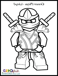 Lego Ninjago Lloyd Coloring Pictures Ninja Coloring Page Movie