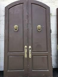 arched door double entry doors double door knockers 107x63