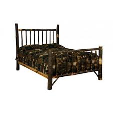 King Size Hickory Mission Style Bed - Amish Made in USA 605930747027 | eBay