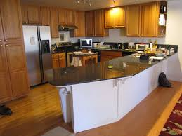 Teak Wood Kitchen Cabinets Wooden Kitchen Countertop Finishes White Tile Ceramic Flooring