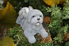 dog garden statue. Dog Angel Statues - Memorials Mixed Breed, Terrier, Shih Tsu, Bichon Frise Garden Statue