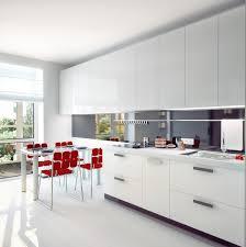 Modern White Kitchen All White Kitchens That Shine Asian Lifestyle Design