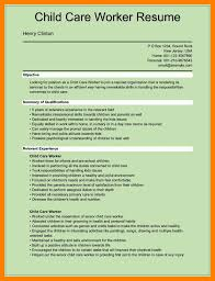 Childcare Resume Cover Letter 100 daycare worker resume mla cover page 68