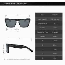 Spectacles Size Chart Dubery Polarized Sunglasses Mens Driving Shades Male Sun Glasses For Men Retro Cheap 2017 Luxury Brand Designer Oculos