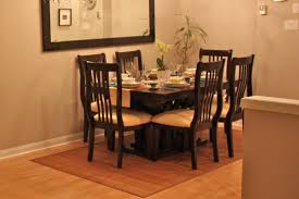 modern home dining rooms. 76 Most First-rate Table Rug Size For Dining Room Area Under Big Rugs Round Kitchen Genius Modern Home Rooms
