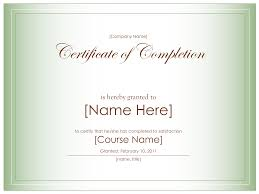 templates for certificates of completion awe inspiring certificate of completion wording and template