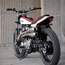 yamaha xs650 flat tracker via bike exif bikes bikers