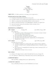 Service Skill Resume Abilities Examples And Skills Summary Of
